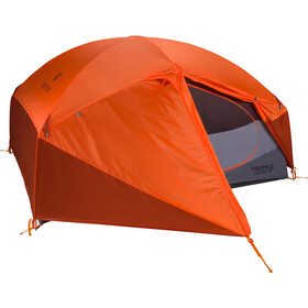 Marmot Limelight 3P Tent, cinder/rusted orange